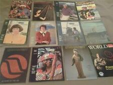NORTHWEST AIRLINES lot of 12 Inflight Magazines