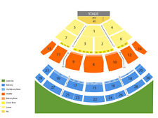 Dave Matthews and Tim Reynolds SPAC N2 tickets 6/17 Saratoga Springs ORCHESTRA