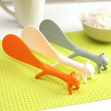 Creative Spoon Scoop Rice Paddle Table Standing Ladle Squirrel No Sticky