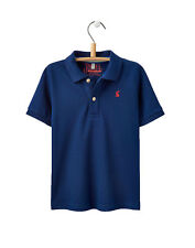 Joules Boys Jersey Polo Shirt - Navy