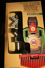 LGB G scale  Lighted battery operating crossing signal #1962new in origional box