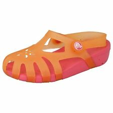 Girls Crocs Chameleons Cantaloupe/Hot Pink Sandals SHIRLEY