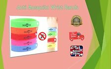 5-100 xANTI MOSQUITO BUG REPELLENT WRIST BAND BRACELET INSECT CAMPING MOZZ