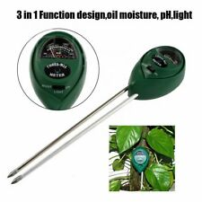 Soil PH Level Moisture Light Tester Meter Flower Plant Crop Hydroponics Analyzer