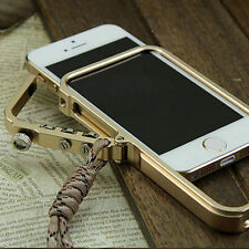 Luxury Aluminum Metal Button Cleave Frame Bumper Case Cover For iPhone 7 Plus