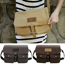 Vintage Style Unisex Canvas Messenger Travel School Casual Shoulder Bag UTAR