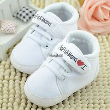 Fashion Infant Toddler Baby Soft Sole Antiskip Canvas Sneaker Crib Shoes UTAR