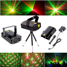 New Mini Projector DJ Disco Light Stage R&G Party Laser Lighting Show SE