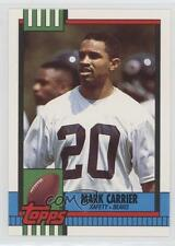 1990 Topps Traded #29T Mark A Carrier Chicago Bears A. RC Rookie Football Card