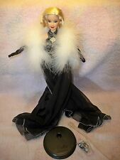 Barbie Collector Edition Steppin' Out  Dressed doll Freshly Deboxed Black Gown