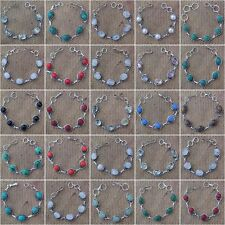 WHOLESALE LOT ! MIX SIZED ! 25 50 75 100 500 LOT GEMSTONE BRACELET JEWELRY
