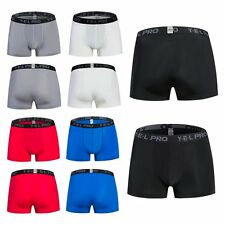 Mens Shorts Sports Compression Thermal Base Layer Tights Fitness Trousers Pants
