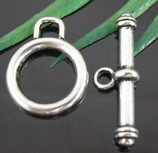Free Ship 16Sets Tibetan Silver Nice Toggle Clasps 19X15mm