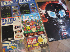 RETRO GAMER MAGAZINE / MAGAZINES Rarities Collection - inc ISSUE 1 + 100 +extras