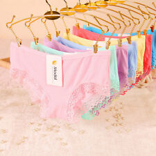 Modal Cotton Underwear Panties Lingerie Knickers New Briefs Women's Sexy Lace