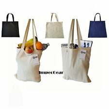 SET OF 60 - 100% Cotton Reusable Grocery Shopping Tote Totes Bag Bags 14 x 16