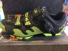 FUNKIER FLR F-65 MTB CYCLING SHOE - MENS - Black/Neon Yellow