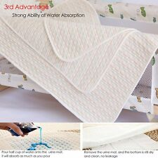 Baby Diaper Nappy Urine Mat Kid Waterproof Bedding Cover Infant Changing Pad