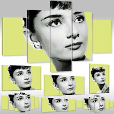 Canvas Picture Canvas Print Wall Tattoo Art Print Audrey Hepburn Actress