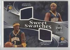 2006 Upper Deck Sweet Shot #SSD-TO Jamaal Tinsley Jermaine O'Neal Indiana Pacers