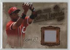 2005 SP Legendary Cuts Lasting Legends Jerseys Memorabilia #LL-BL Barry Larkin