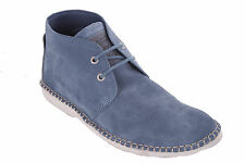 GUESS Men's Lace-up Shoes Boots Ankle Boots Blue #622