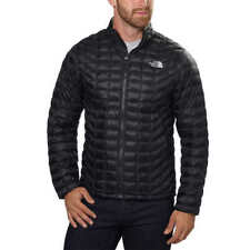 North Face Mens THERMOBALL Full Zip Jacket TNF Black 2XL