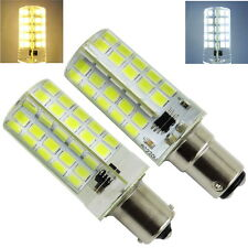 10pcs BA15S BA15D LED Bulb Dimmable AC 110V 220V 5W Car Boat Light Bulb E