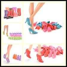 Multiple Choice Mix Shoes Boots for Barbie Doll Girls Play House Gift CAGN