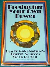 CAROL HUPPING STONER, Producing Your Own Power, HB/DJ (RODALE PRESS, 1974)