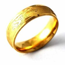 Vintage Jewelry gold filled Dragon couple Mens Band Ring lot Size 7,8,9,10 ,11