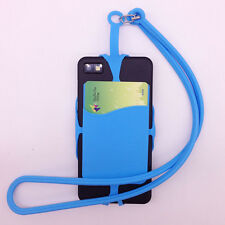 Universal Silicone Lanyard Case Cover Sling Necklace Wrist Band for Mobile Phone