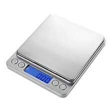500g/0.01g Digital Pocket Stainless Jewelry & Kitchen food Scale Lab Weight