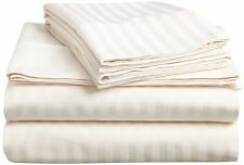 1000TC EGYPTIAN COTTON IVORY EXTRA DEEP POCKET FITTED SHEET_ALL BEDDING ITEMS