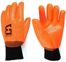 Better Grip Heavy Duty Premium Sandy finished PVC Coated Gloves with Knit Wrist