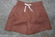 Brownie Girl Scout Uniform Shorts - Your Choice of Size - Pull on Waist