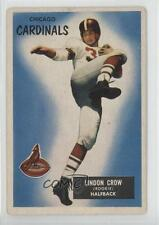 1955 Bowman #5 Lindon Crow Chicago Cardinals RC Rookie Football Card