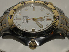 OMEGA SEAMASTER 300 M AUTOMATIC CHRONOMETER MEN's WATCH--SOLID 18 K GOLD & SS