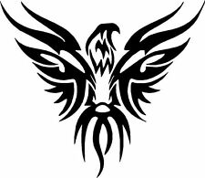 Tribal Eagle Flame Vinyl Decals Stickers for Car or Truck, Multiple colors