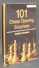 101 Chess Opening Surprises by Graham Burgess (Book)