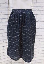 NEW FAT FACE TEAL GREEN DITSY FLORAL PRINT MIDI SKIRT 10 to 18