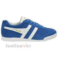 Shoes Gola Harrier CMA192ME207 Man Sneakers Suede Marine Blue White
