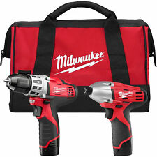 Milwaukee 2494-22 M12 REDLITHIUM 2 Tool Combo Kit - NEW