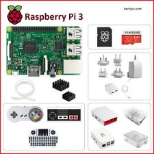 Raspberry Pi 3 Model B Build-It-Yourself (BIY) Kit White