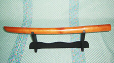 56cm Chinese beech wood wakizashi bokken for Kendo and martial arts wooden sword