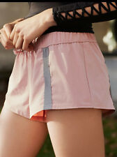 Free People Movement Hot to Trot Layers Shorts Pink Blush $78