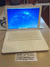 "MacBook  Unibody 13.3"" 2.4GHZ 2GB RAM 250GB HD 2010"