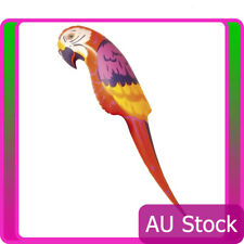 """Inflatable Parrot 116cm 46"""" Luau Hawaiian Pirate Jungle Beach Party Accessories"""