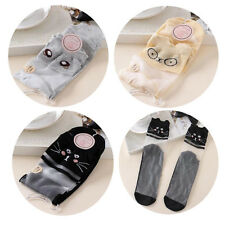 Lace Sock 1 Pairs Comfy Women Cotton Mesh Knit New Elastic Ankle Socks