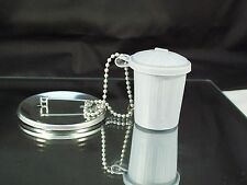 Trash Can Button Accessories w/Chain